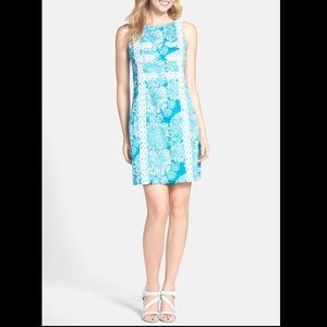 Lilly Pulitzer Mirabelle Boat Neck Shift Dress EUC